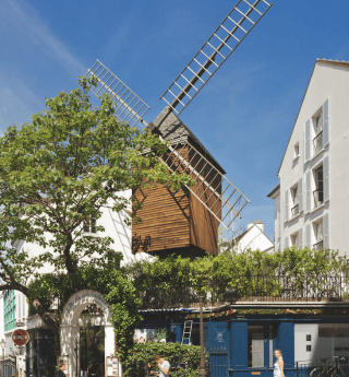 The Moulin de la Galette; fascinating history and gourmet delights...