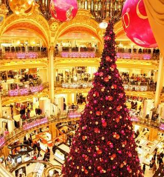 Un moment magique : votre shopping de Noël à Paris