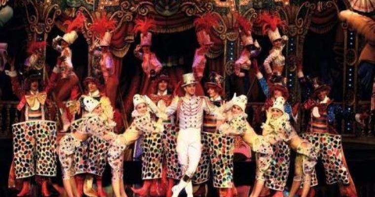 Moulin Rouge in Paris for glittering festive celebrations