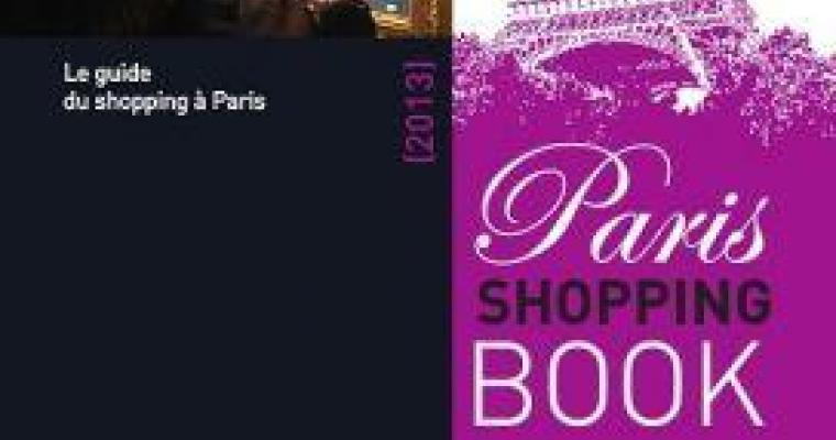 Paris Shopping Book recommended by Les Plumes Hotel