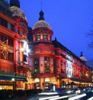 Shopping féerique avec les vitrines de Noël