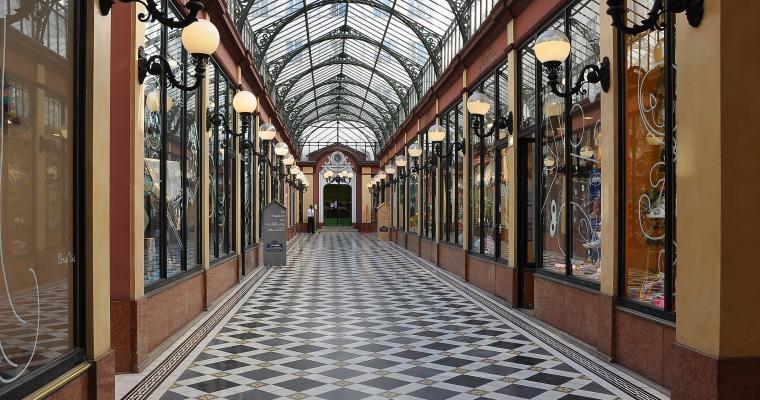 The secret covered passages of Paris