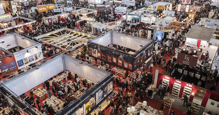 Satisfy your passion for books at the Paris Book Fair