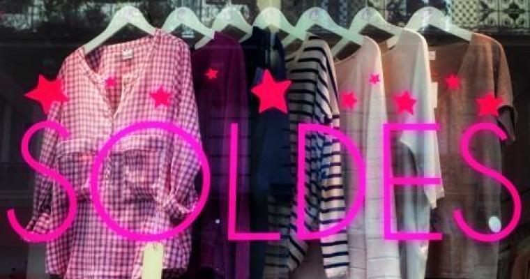 Shopping heaven; it's the Winter Sales in Paris