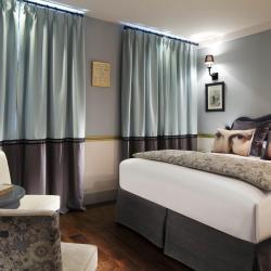 Les Plumes Hôtel Paris - Chambre bleu-gris